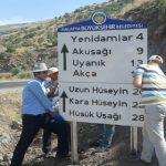 Kale'de Trafik Levhalama Çalışmaları Devam Ediyor