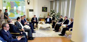 TOBB Başkanı Hisarcıklıoğlu Başkan Çakır'ı Ziyaret Etti