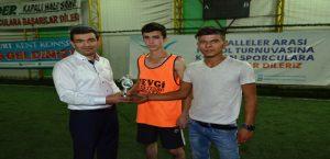1.Mahalleler Arası Halı Saha Futbol Turnuvası Sona Erdi