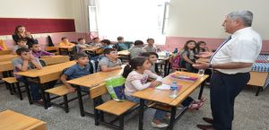 Başkan Polat, Öğrencilerin İlk Gün Heyecanına Ortak Oldu