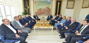 MÜSİAD Genel Başkanı Olpak, Yeşilyurt Belediye Başkanı Polat'ı Ziyaret Etti