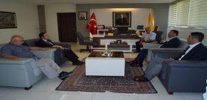 Ağbaba'dan Rektör Prof. Dr. Ahmet Kızılay'a Tebrik Ziyareti