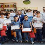 Yaz Okuluna Katılan Gençler Sertifikalarını Aldılar