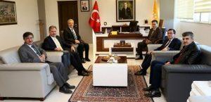 Başkan Çakır'dan Rektör'e Ziyaret