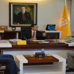 Esnaf Kuruluşlarından Rektör Kızılay'a 'Hayırlı Olsun' Ziyareti