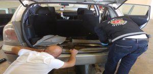 Kapıkule'de Otomobilde 26 Kilo Eroin Yakalandı