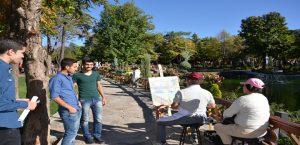 Parkta Sanat