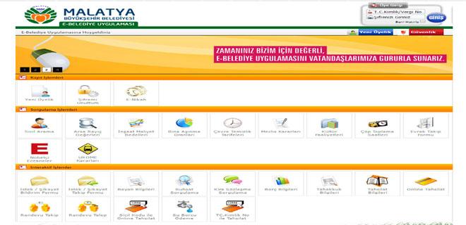 E-Belediye Uygulaması E-Devlet Üzerine Taşınıyor