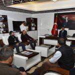 Pazarcılar Odası'ndan Başkan Gürkan'a Ziyare