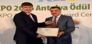 Başkan Gürkan, Bir Ödül Daha Aldı