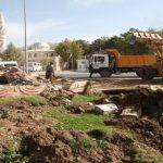 Asri Mezarlık Kavşağı'nda Islah Çalışması Başlatıldı