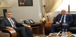 Ak Parti Genel Başkan Yardımcısı Erol Kaya'dan Başkan Yanılmaz'a Ziyaret