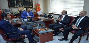 CHP'li Bingöl'den MESOB Başkanı Keskin'e ziyaret