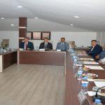 Vali Toprak MTB'nin Ekim Ayı Toplantısına Katıldı
