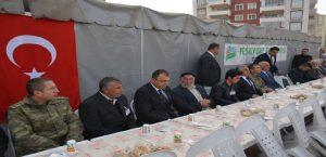 Vali Toprak, Şehit Polis Yeli'nin Mevlidine Katıldı