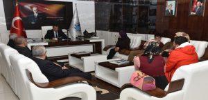 Malatya Otizm Derneği Yönetimi, Başkan Gürkan'ı Ziyaret Etti