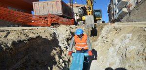 Hekimhan'ın Kanalizasyon Alt Yapısı Yenileniyor