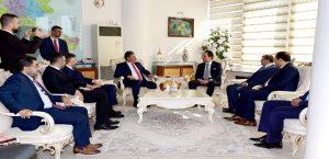 Fatih Erbakan Başkan Çakır'ı Ziyaret Etti