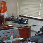 ESKKK Bölge Başkanı Bayram'dan  MESOB Başkanı Keskin'e ziyaret