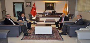 Başkan Kızıldaş'dan Rektör Kızılay'a Ziyaret