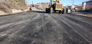 Elazığ Belediyesi Asfalt Çalışmalarını Sürdürüyor