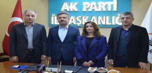 Efkan Ala'dan Elazığ Ak Parti İl Başkanlığına Ziyaret