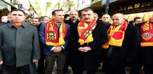 Yeni Malatyaspor Sokağı'nın Açılışı Yapıldı