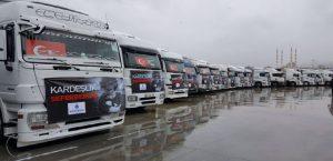 Kızılay Malatya Şube Başkanı Yalçın 'Kardeşlik Kervanı' Uğurlama Törenine Katıldı