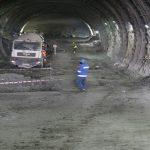 Tünelde Çalışmalar Devam Ediyor