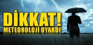 Kuvvetli Rüzgar Uyarısı !