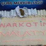 Malatya'da Uyuşturucu Hap ve Esrar Ele Geçirildi