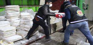 İran Sınırında Rekor Uyuşturucu Yakalaması