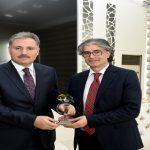 Prof Dr Özdemir'den Başkan Çakır'a Ziyaret