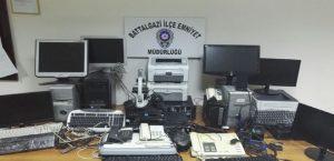 Halk Eğitim Müdürlüğüne Giren Hırsızlar Yakalandı