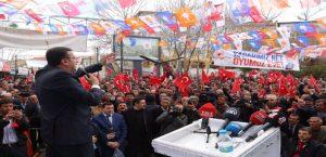 Ak Parti Pütürge ve Doğanyol'da Miting Yaptı