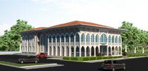 Yazıhan Kültür Merkezi'nin Kaba İnşaatı Tamamlandı