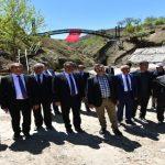 Nogay ve Başkan Gürkan, İspendere İçmeleri'ni Gezdi
