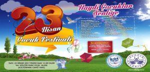 Haydi Çocuklar 23 Nisan Festivaline