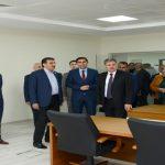 Gümrük ve Ticaret Bakanı Maski'nin Yeni Hizmet Binasını Ziyaret Etti