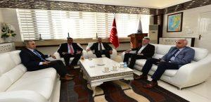 Mev Genel Başkanı Elgül, Başkan Gürkan'ı Ziyaret Etti