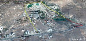 Tabiat Parkı'nın Giriş Güzergahı Değişti