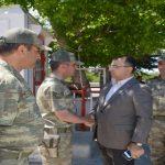Vali Toprak Örnek Köy Jandarma Komutanlığını Ziyaret Etti