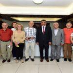 Robert Koleji 1967 Mezunları, Başkan Gürkan'ı Ziyaret Etti