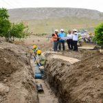 Darende Günerli'de Kanalizasyon Hattı Son Aşamada