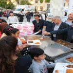 Başkan Gürkan, İftar Çadırında Vatandaşlarla Bir Araya Geldi