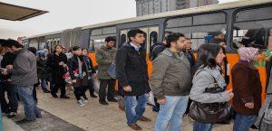 Belediye Otobüsleri Öğrencileri Sınava Ücretsiz Taşıyacak