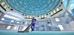 İzmir'de Camilerde Bayram temizliği