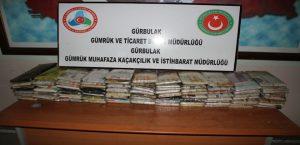 Gürbulak Sınır Kapısı'nda Uyuşturucu Operasyonu