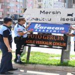 Mersin'de Görüntü Kirliliğine Yer Yok