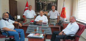 Elektrikçiler Odası'nın Yeni Başkanı Kapıkıran'dan Keskin'e Ziyaret